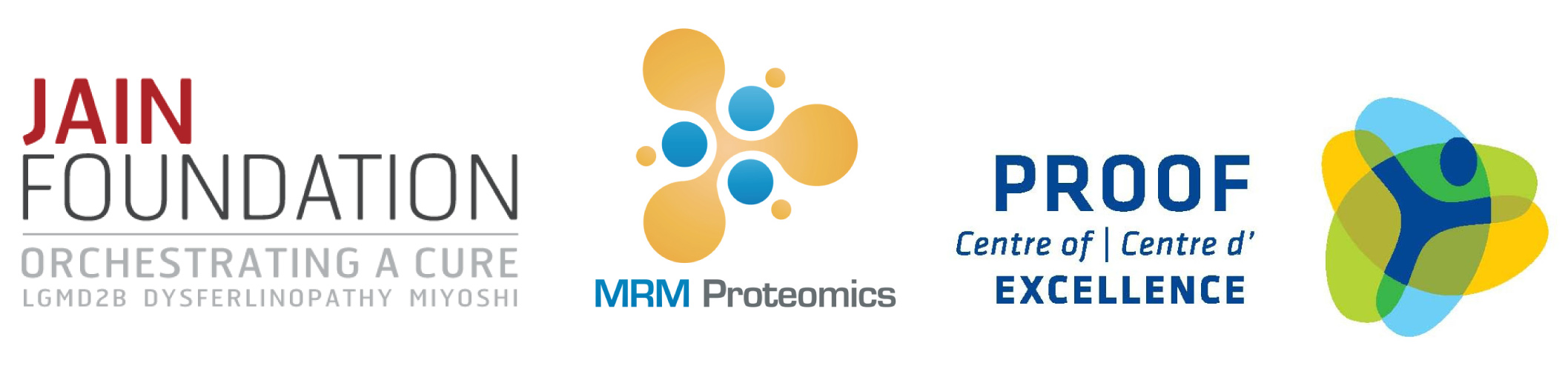 PROOF Centre and MRM Proteomics Collaborate with the Jain Foundation to Identify Blood-Based Biomarkers of LGMD2B/Miyoshi Muscular Dystrophy