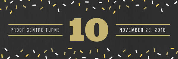 The PROOF Centre of Excellence Turns 10!